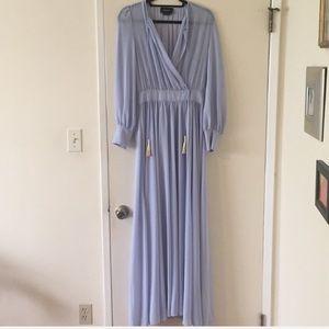 Nasty Gal maxi dress